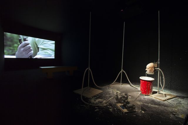 Nathaniel Mellors, Animatronics and Film, The Object and Our House Episode 2 (still), 2011