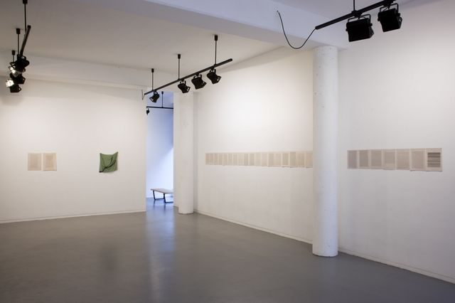 Sue Tompkins, Installation, Skype Won't Do (Installation View 1), 2013