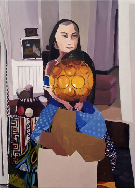 Helen Verhoeven, Oil on Canvas, Mother 8, 2013