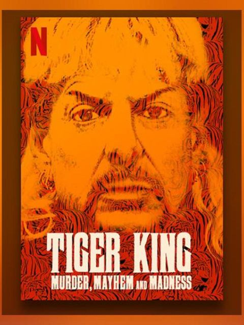 The choices of Elspeth Diederix, I hardly watch any series but I found Tiger King facinating., - I'm currently watching -,