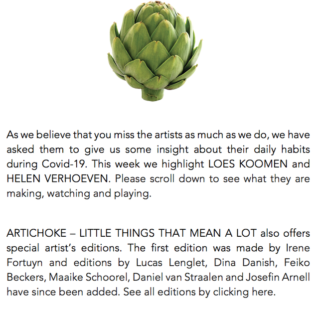 ARTICHOKE - little things that mean a lot Artist Profile Photo